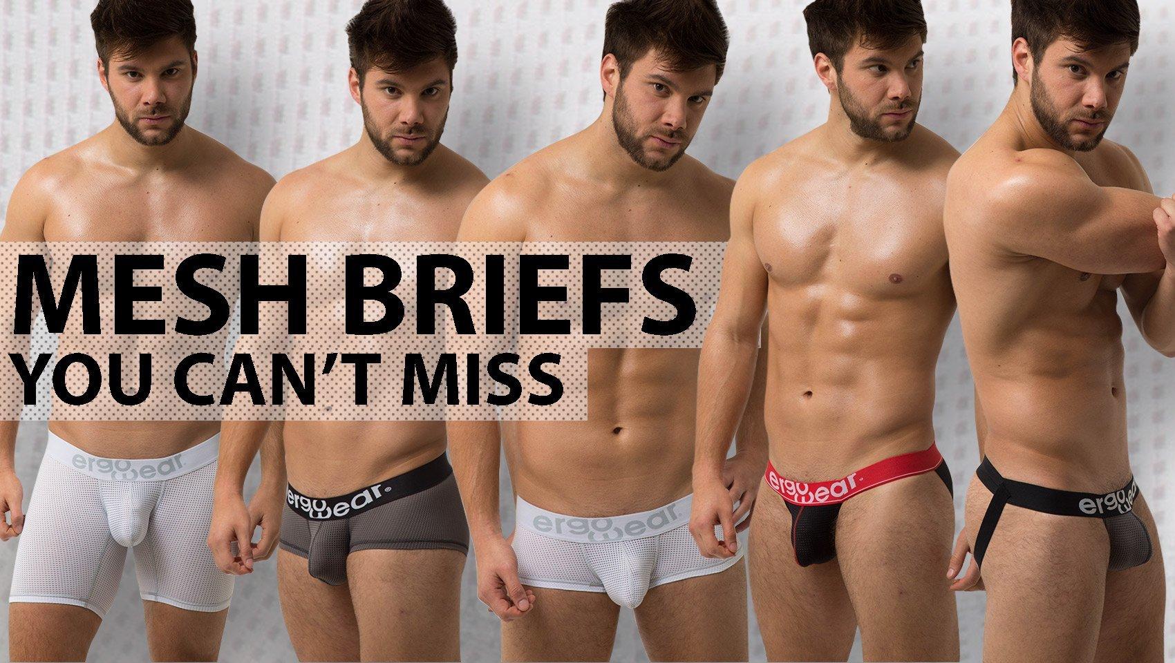 Men's Mesh Briefs - Ergowear