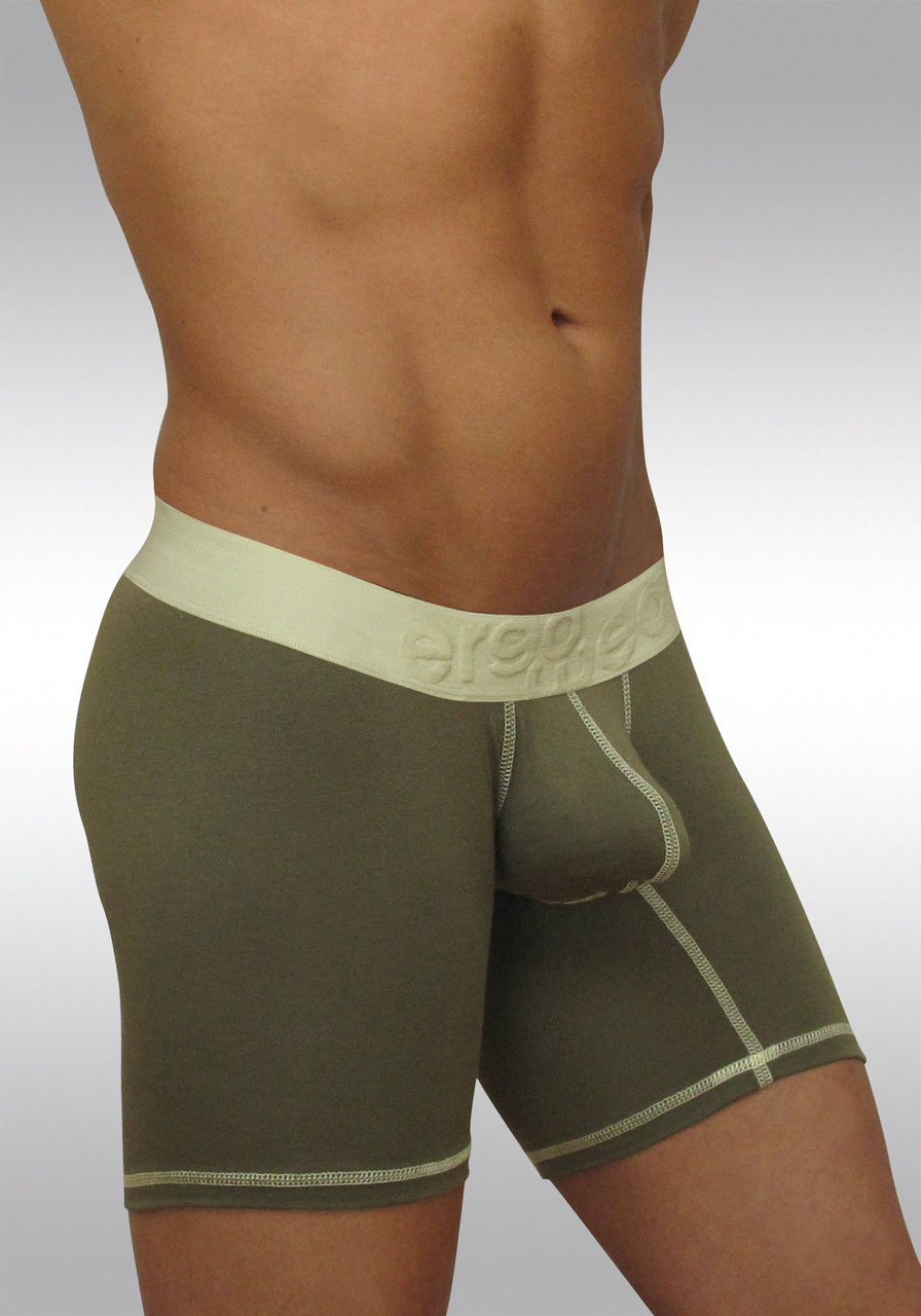 Midcut with pouch MAX Light - Olive green - Side