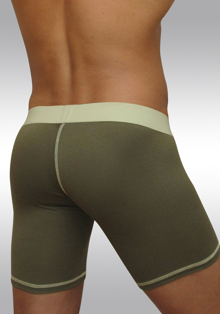 Midcut with pouch MAX Light - Olive green - Back