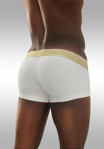 FEEL Classic XV - Men's Pouch Boxer - White/Gold - Back