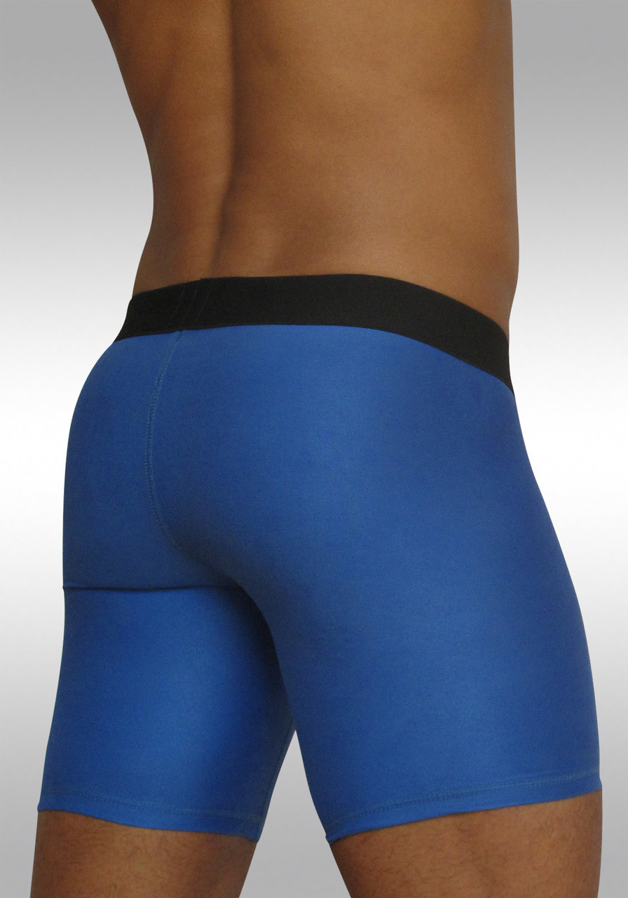 Midway Brief with Pouch MAX Suave Cobalt - Back view