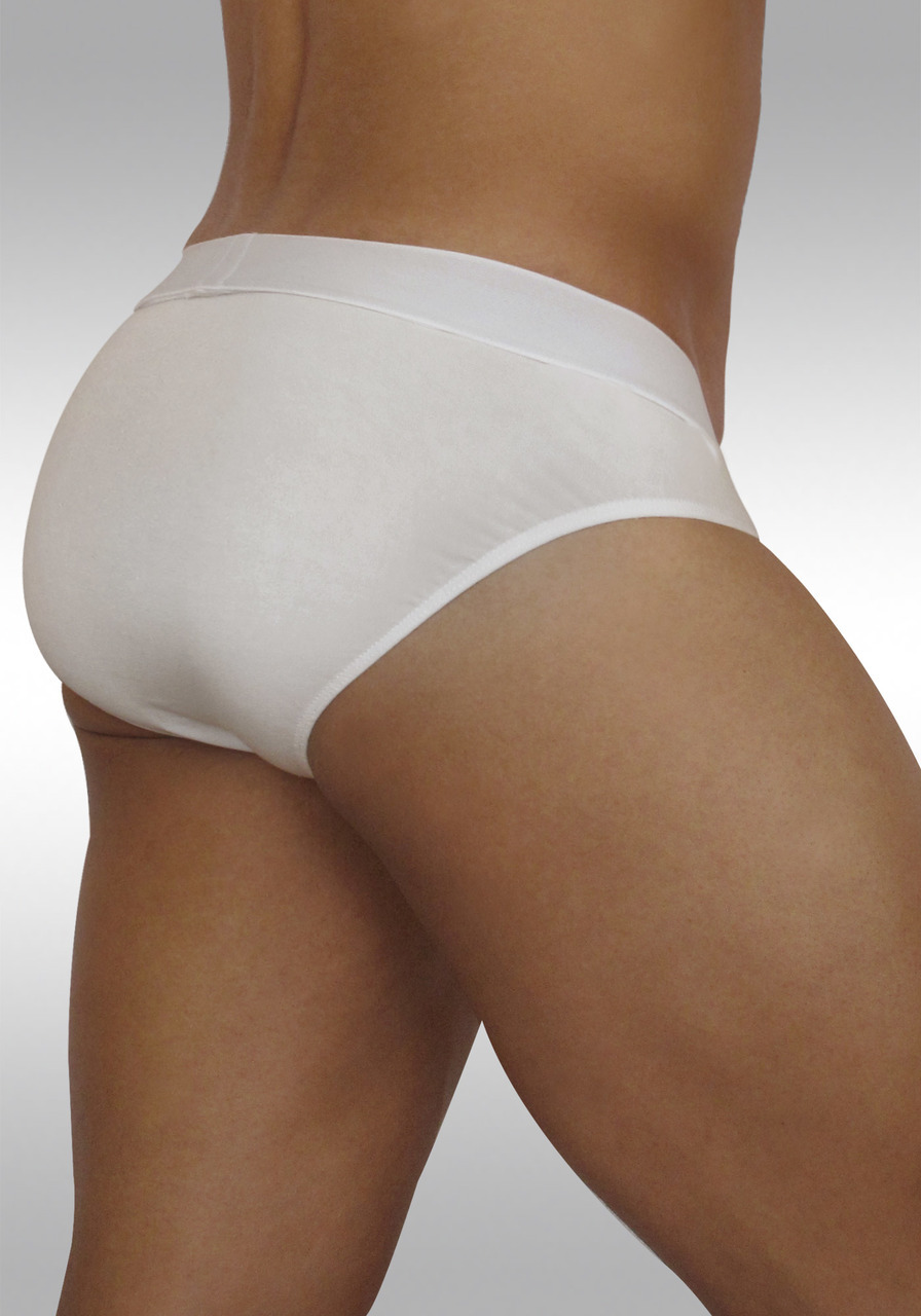 FEEL Modal Brief White - Back view