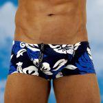 Men's swimwear with pouch FEEL Bondi mini trunk - front view