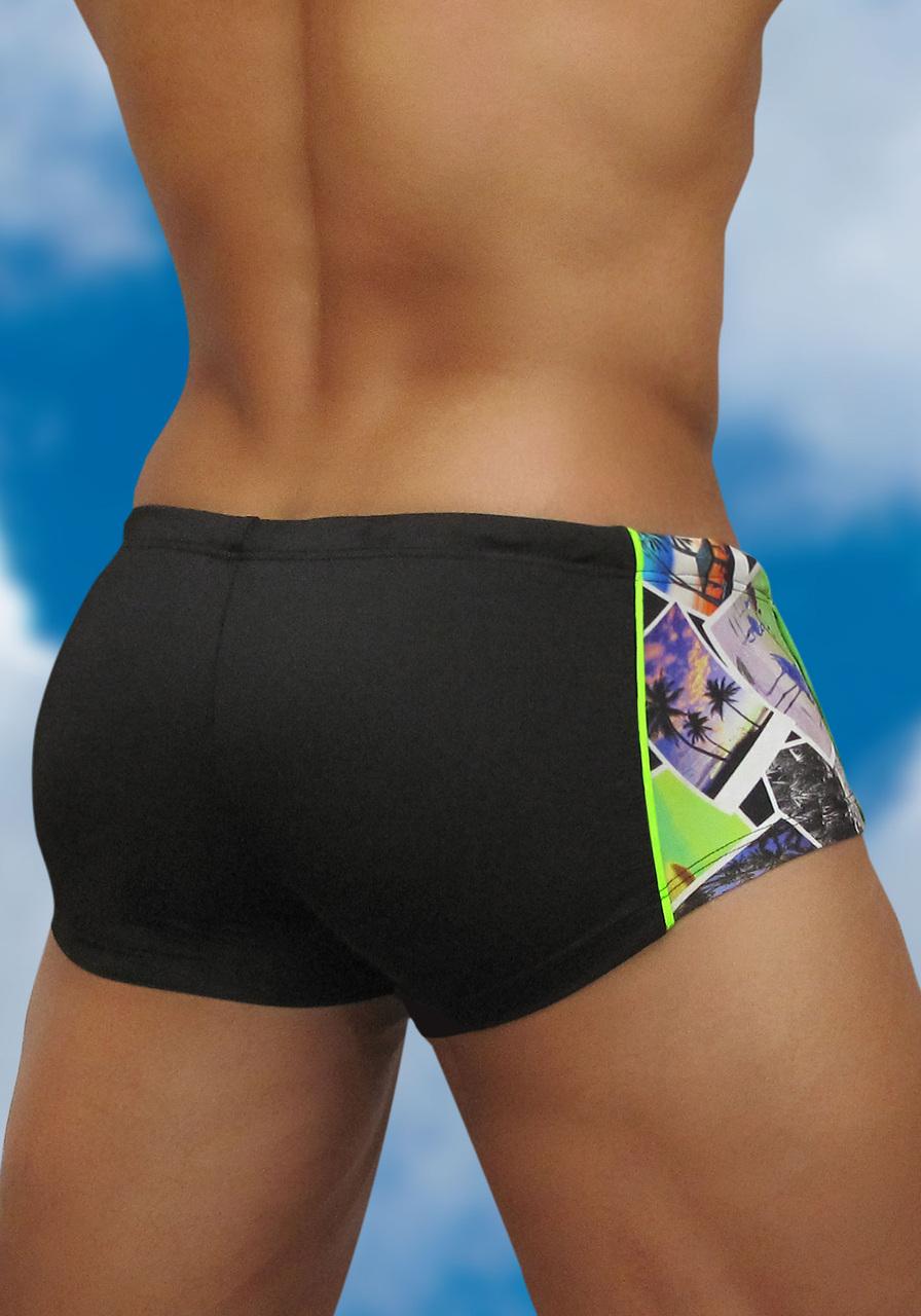 Men's Mini Trunk Swimwear Feel Instant - Back view