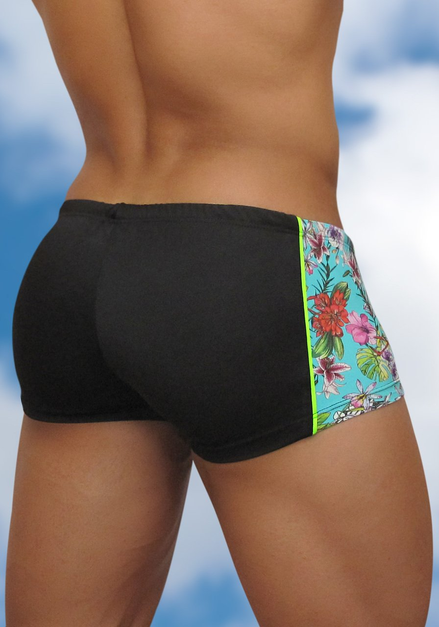 Men's Mini Trunk Swimwear Feel Flamingo - Back view