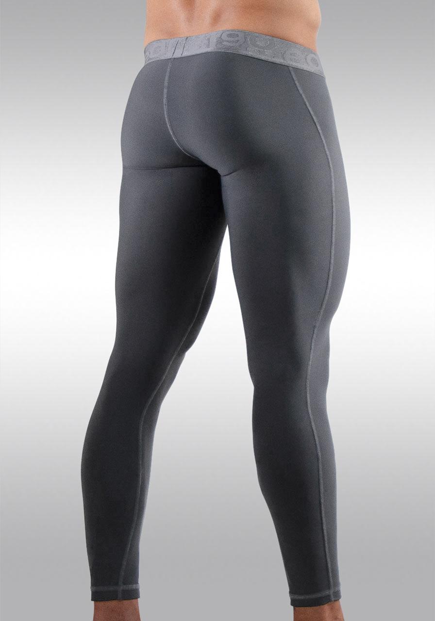 FEEL XV Leggings Space Grey | Back view
