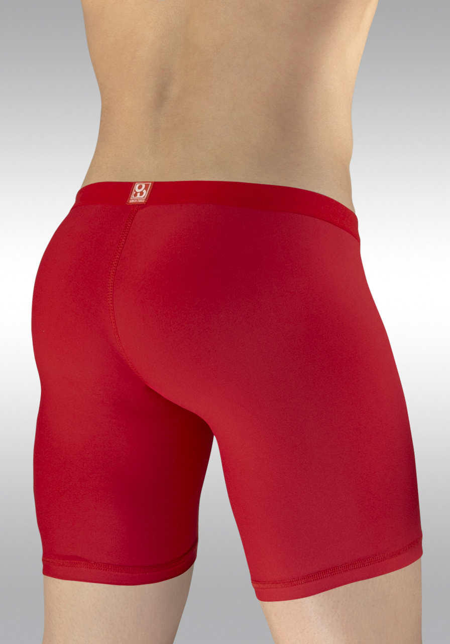 SLK Midcut - Red | Back view
