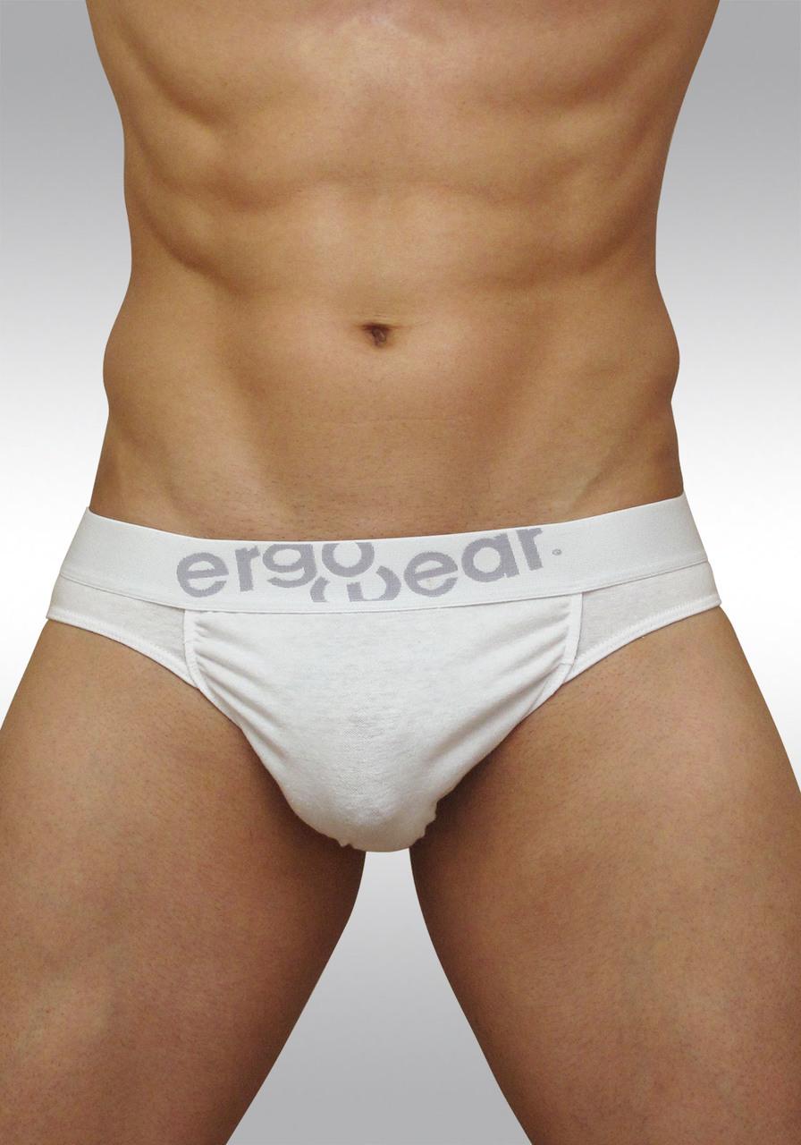 FEEL classic ergonomic men's pouch brief white - front A