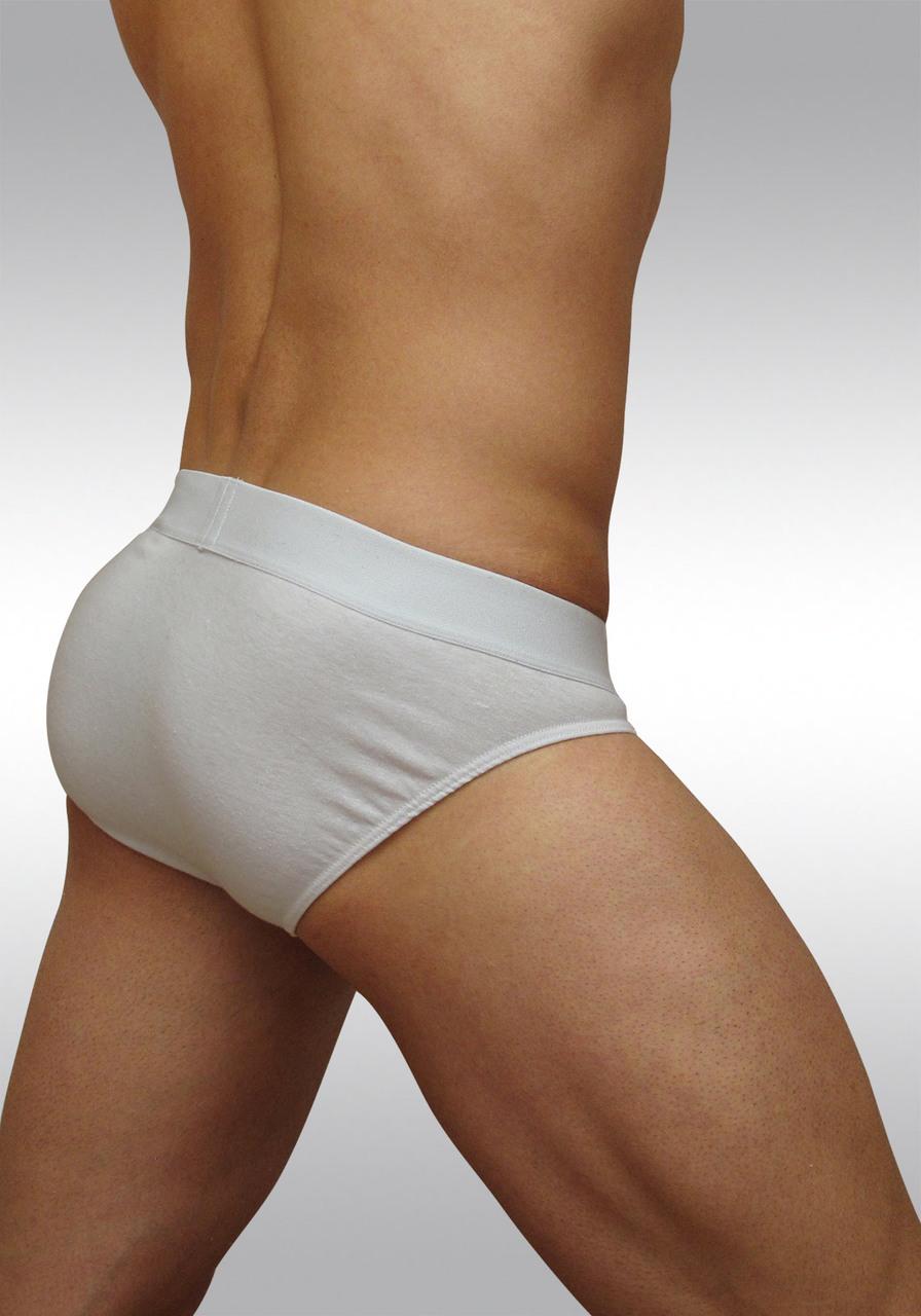 FEEL classic ergonomic men's pouch brief white - back