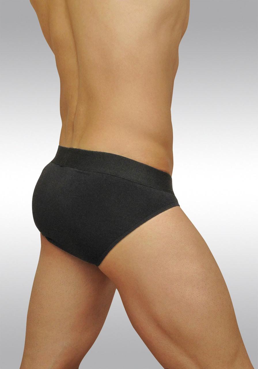 FEEL classic ergonomic men's pouch brief black - back