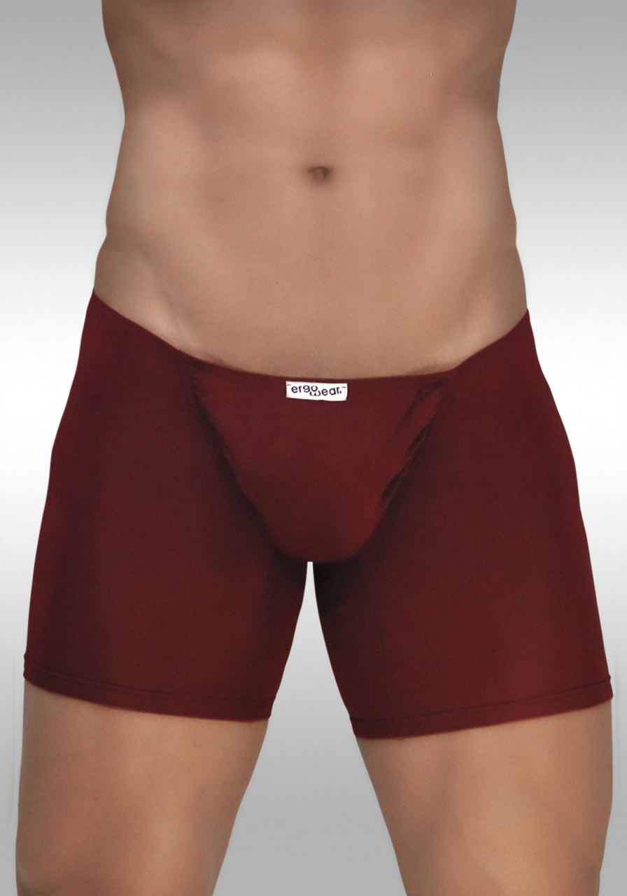 FEEL Modal Midcut - Burgundy - Front View
