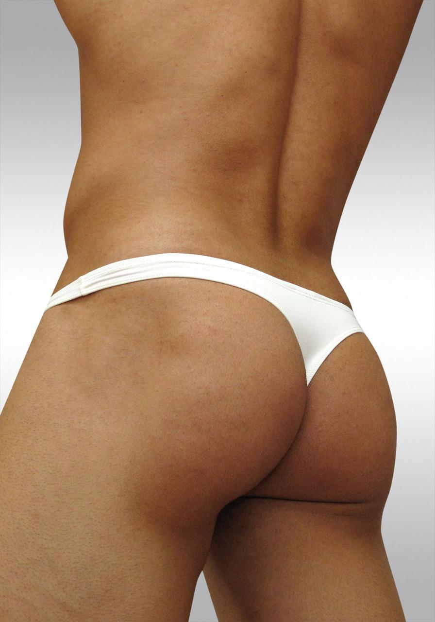 Ergowear Pouch Microfiber X3D Thong White Rear