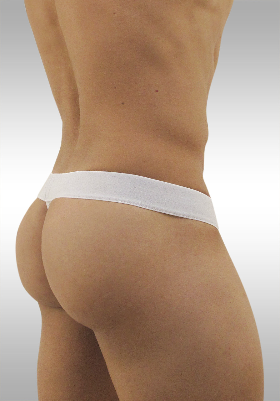 Ergowear Pouch MAX Mesh Thong White/Grey Back