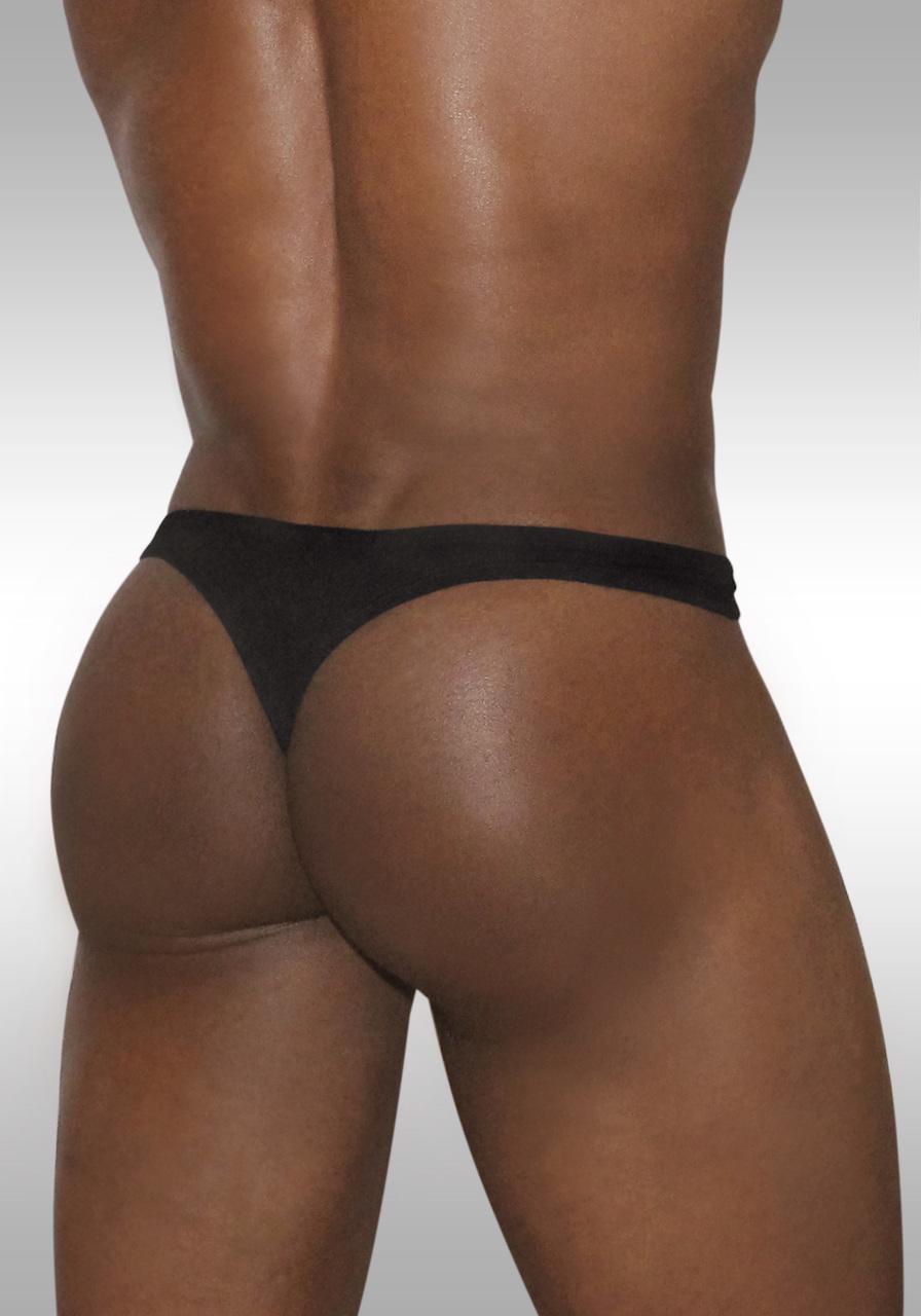 X3D Modal Thong Black   Back view
