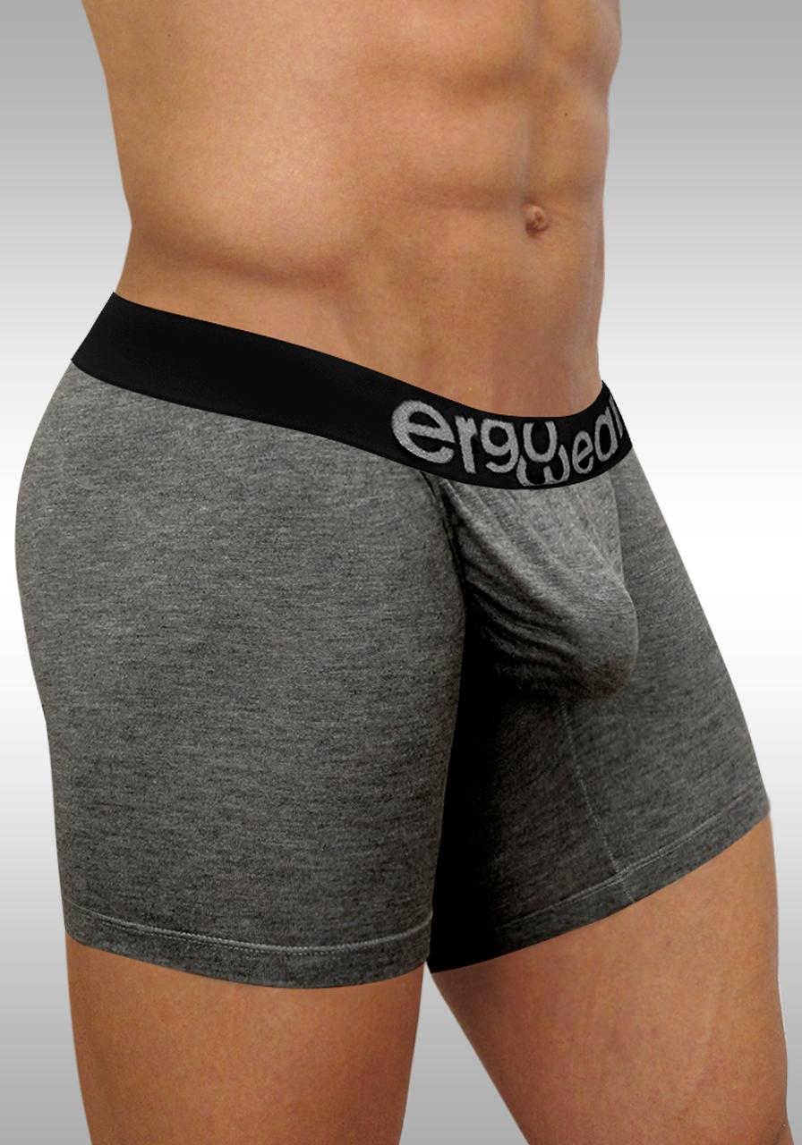 FEEL Modal Long Boxer Gray - Side view