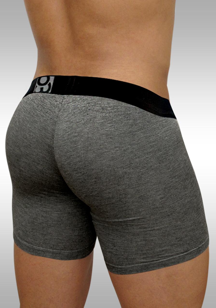FEEL Modal Long Boxer Gray - Back view