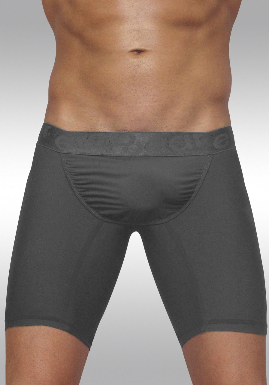 FEEL Classic XV - Men's Pouch Midcut Brief - Space Grey - Front