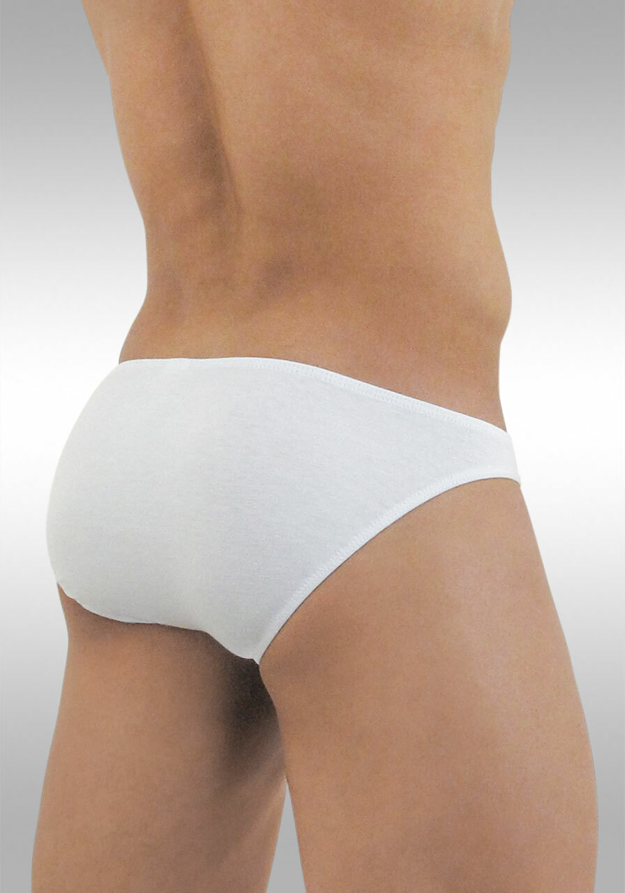 FEEL Modal Bikini White - Back View