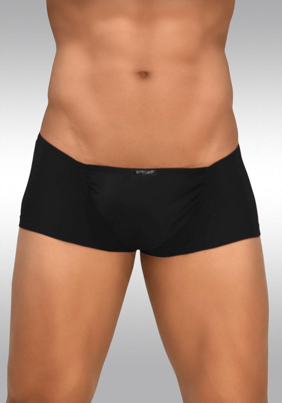 FEEL Modal Mini Boxer Black - Front View