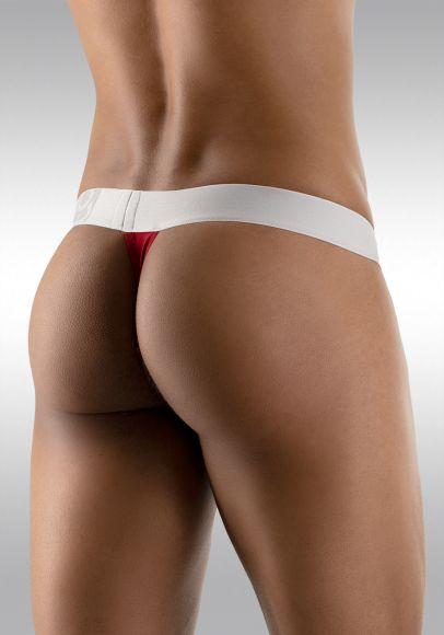 MAX Modal Thong Garnet - Back View