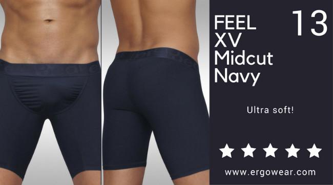 FEEL XV Midcut Navy, ultra soft!