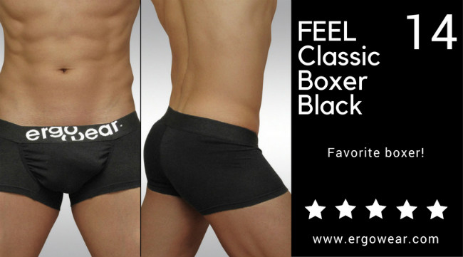 FEEL Classic Boxer Black, favorite boxer!