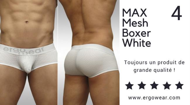 MAX Mesh Boxer White/Grey, Toujours un produit de grande qualité !