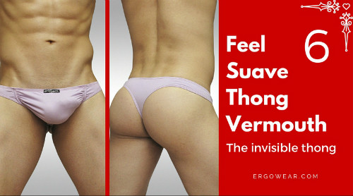 FEEL SUAVE THONG - VERMOUTH
