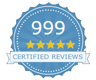Over 1,000 reviews from real people badge