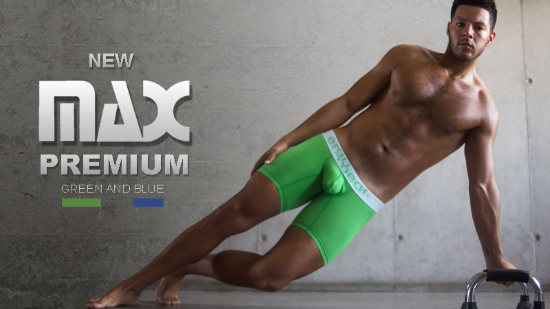 New MAX Premium Boxer and Midcut Green & Blue
