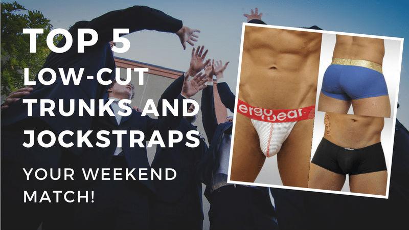 12 New Styles of Men's Swimwear by Ergowear