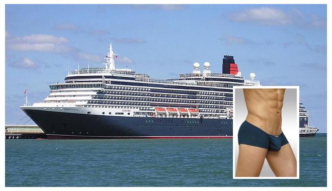 Show off your underwear in UK's Cunard's Birthday