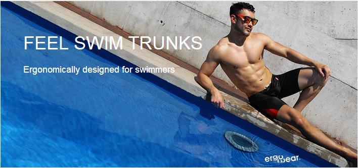 Feel Suave Swim Trunks for Men Banner