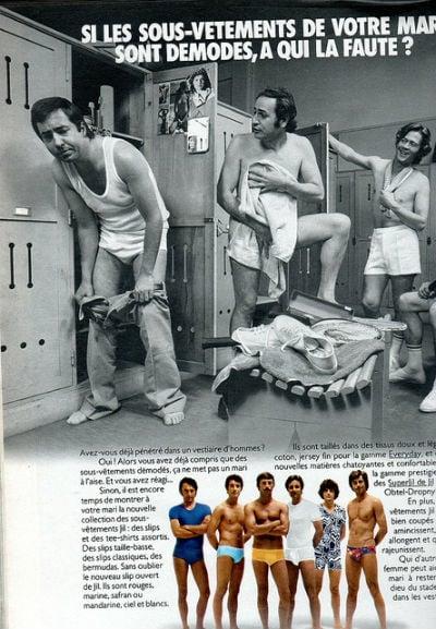 The 1970s-1973 Jours de France ad - Mo