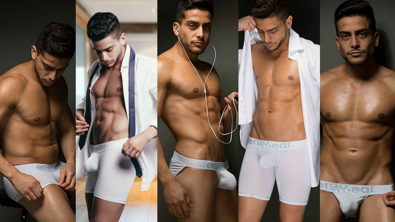 New MAX Mesh All-White Version! Just when you thought it was ok to stop wearing tighty whities...