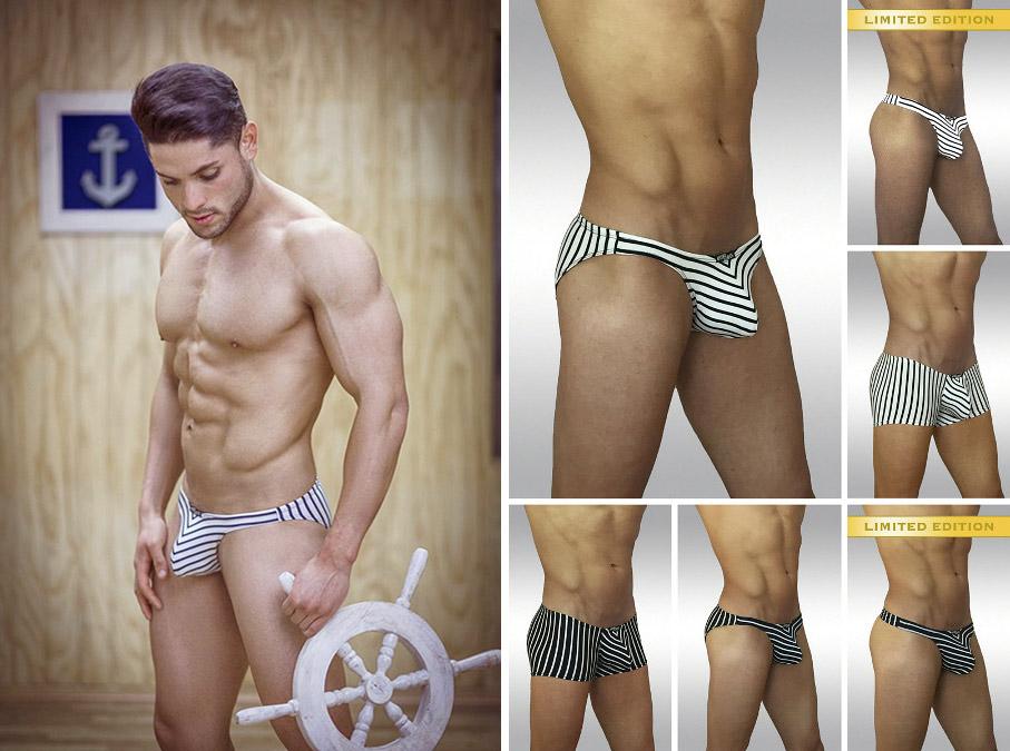 Limited Edition X3D Marine Thongs, Bikinis and Boxers, Aye!